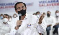 Fiscal Juárez presentó la medida restrictiva contra el candidato al Congreso, Martín Vizcarra.
