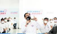 Avisado. El expresidente y actual candidato al Congreso, Martín Vizcarra, es señalado por exdirectivos de ICCGSA y Obrainsa. Foto: difusión
