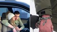 Tras viralizarse en redes la pareja ha ganado cierta fama apareciendo incluso en la televisión de Ucrania.