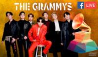 BTS en los Grammys 2021.