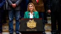 Jeanine Áñez fue detenida por el supuesto golpe de Estado contra Evo Morales.