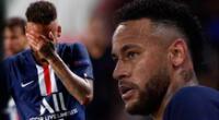 Simpatizantes del PSG piden que Neymar duerma temprano.