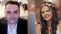En redes sociales la pareja se ha vuelto toda una celebridad debido a su inusual boda, ya que ambos se encuentran en sus países.