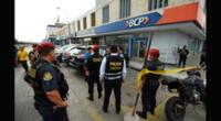 Dos cambistas fueron asaltados a balazos.