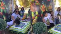 """Un video viral muestra el """"ataque de ira"""" de un niño por la broma pesada que le jugó su tía el día de su cumpleaños."""