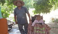 Rufina Ipurre Arotinco nació en 1906, en Ayacucho. Actualmente vive en Ica y tiene 56 bisnietos y 21 tataranietos.