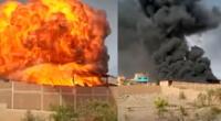 incendio de grandes en Zapallal