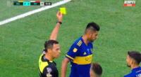 Carlos Zambrano casi ve la tarjeta roja.