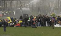 Protesta en Holanda