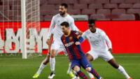 Messi estuvo diablo marcó dos goles en la goleada ante el Huesca 4-1 .