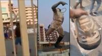 Imágenes de lo sucedido en el estadio Monumental se hizo viral en las redes sociales.