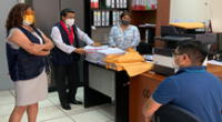 Ocma visitó sede de la Corte de Lima Sur para verificar el caso de acoso sexual a una trabajadora