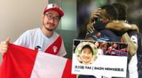 Tasuku Okawa llamó la atención en las redes sociales tras el fallo del TAS favorable a Alianza Lima.