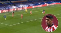 Atlético de Madrid de Luis Suárez cae ante Chelsea por la Champions League.