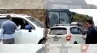 Hermanos pagan a transportistas de carga para pasar por vías bloqueadas.
