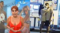 Magaly Medina compartió imágenes de Ivana Yturbe con Beto Da Silva, y resaltó la ropa holgada que usaba.