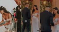 Ivana Yturbe compartió video inédito de su matrimonio con Beto Da Silva.
