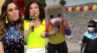 Ethel Pozo y Janet Barboza se comprometieron en vivo a través de América Hoy a llevar ayuda