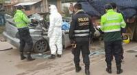 policía muere en un accidente de tránsito en la vía Panamericana