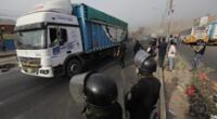 Tras el acuerdo con el Ministerio de Transportes y Comunicaciones, los transportistas suspendieron las manifestaciones.