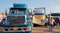 """El Gobierno tiene un plazo hasta el 26 de abril para proponer propuestas """"objetivas y firmes"""" a los transportistas de carga pesada. De lo contrario reanudarán el paro."""