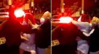 Extranjera agrede a policías durante intervención