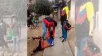 Capturan a delincuente por robar celular en Cañete.