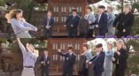RM, Jin, Suga, Jimin, J-Hope, V y Jungkook no pudieron ocultar la felicidad que sentían al ver a su ARMY.
