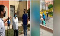 vecinos viven enfrentados por colocación de rejas en San Miguel