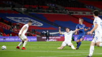 Inglaterra no tuvo piedad y goleó 5-0 a San Marino.