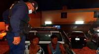 Detienen a dos hombres que intentaron asaltar a comensales de un restaurante