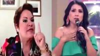 """Rosario Sasieta protagoniza tenso momento con Tula por afirmar que Sofía Franco """"no es una niña""""."""