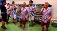 Tony Rosado anima 'privadito' sin mascarilla ni distanciamiento social.