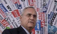 Presidente del Lazio es sancionado por ocultar positivos en el equipo.