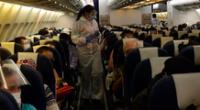 En la madrugada de este sábado, 221 venezolanos arribaron desde la ciudad de Lima en un avión del estatal Conviasa.