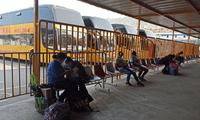 El terminal Yerbateros aumentó el precio de los pasajes con dirección al centro del país debido al cierre de la Carretera Central.