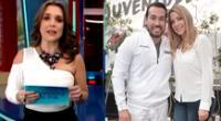 Melissa Peschiera se pronuncia sobre Sofía Franco y Álvaro Paz de la Barra