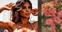 JB en ATV envió arreglo floral a Gabriela Serpa tras estar enferma