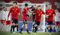 La selección España venció 2-1  a  Georgia