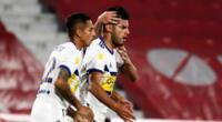 Carlos Zambrano y su golazo en el empate Boca Juniors 1-1 Independiente.