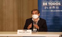 Ministro de Salud, Óscar Ugarte indica que el Perú se encuntra en la parte más alta de la segunda ola