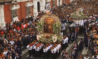 El vía crucis arquidiocesano que se realizaba por Semana Santa