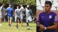 Ángelo Campos, nuevo portero de Alianza Lima, confía en hacer una buena temporada.