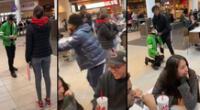 Peculiar video del joven se viralizó en las redes sociales.