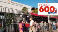 El Bono 600 ya está entregándose a los hogares beneficiarios del Grupo 4.
