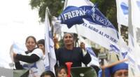 Congresistas de Frepap le ganan en intención de voto a Fuerza Popular.