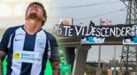 Alianza Lima: hinchas de la U recuerdan el descenso en 2020.