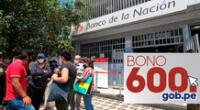 Los beneficiarios del Grupo 4 del Bono 600 ya pueden cobrar el subsidio.