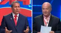 Ollanta Humala pasa tenso momento contra Hernando de Soto.