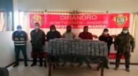 Los detenidos y la droga